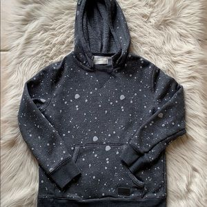 Boys Zara size 8 hooded sweatshirt